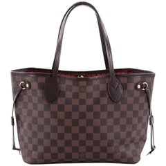 Louis Vuitton Neverfull NM Tote Damier PM