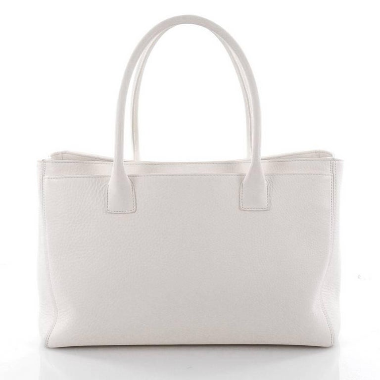 367c35752d5b Women's or Men's Chanel Cerf Executive Tote Leather Medium For Sale