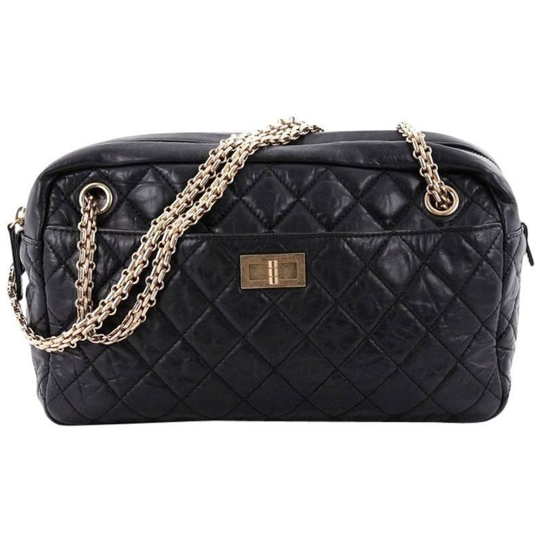 47b8779ed83d Chanel Reissue Camera Bag Quilted Aged Calfskin Medium at 1stdibs