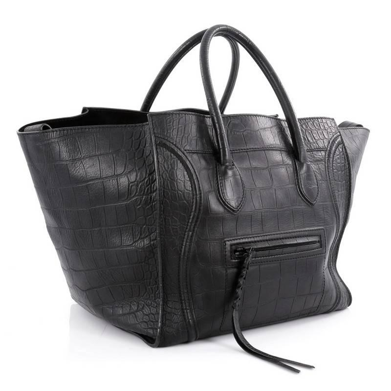 1stdibs Celine Black Large Luggage Phantom Dyem1kast