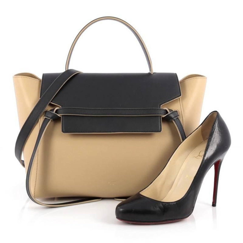 Celine Bicolor Belt Bag Leather Mini at 1stdibs e936e2b6f1