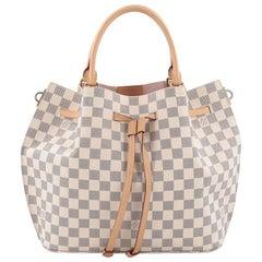 Louis Vuitton Girolata Handbag Damier