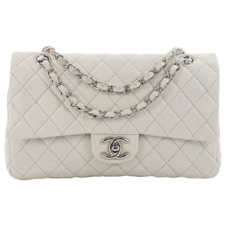 b8576ce9006 Chanel Classic Double Flap Bag Quilted Caviar Medium at 1stdibs