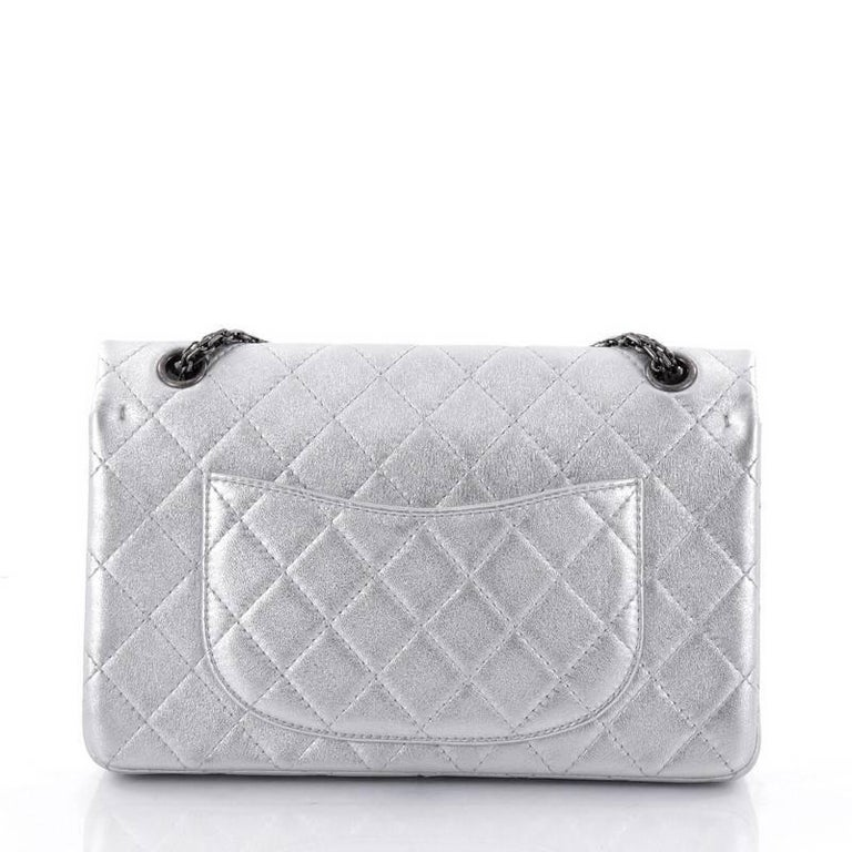 5d8fed78eaed Women's Chanel Reissue 2.55 Handbag Quilted Lambskin 226 For Sale