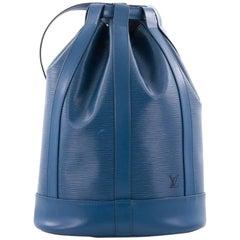 Louis Vuitton Randonnee Handbag Epi Leather PM