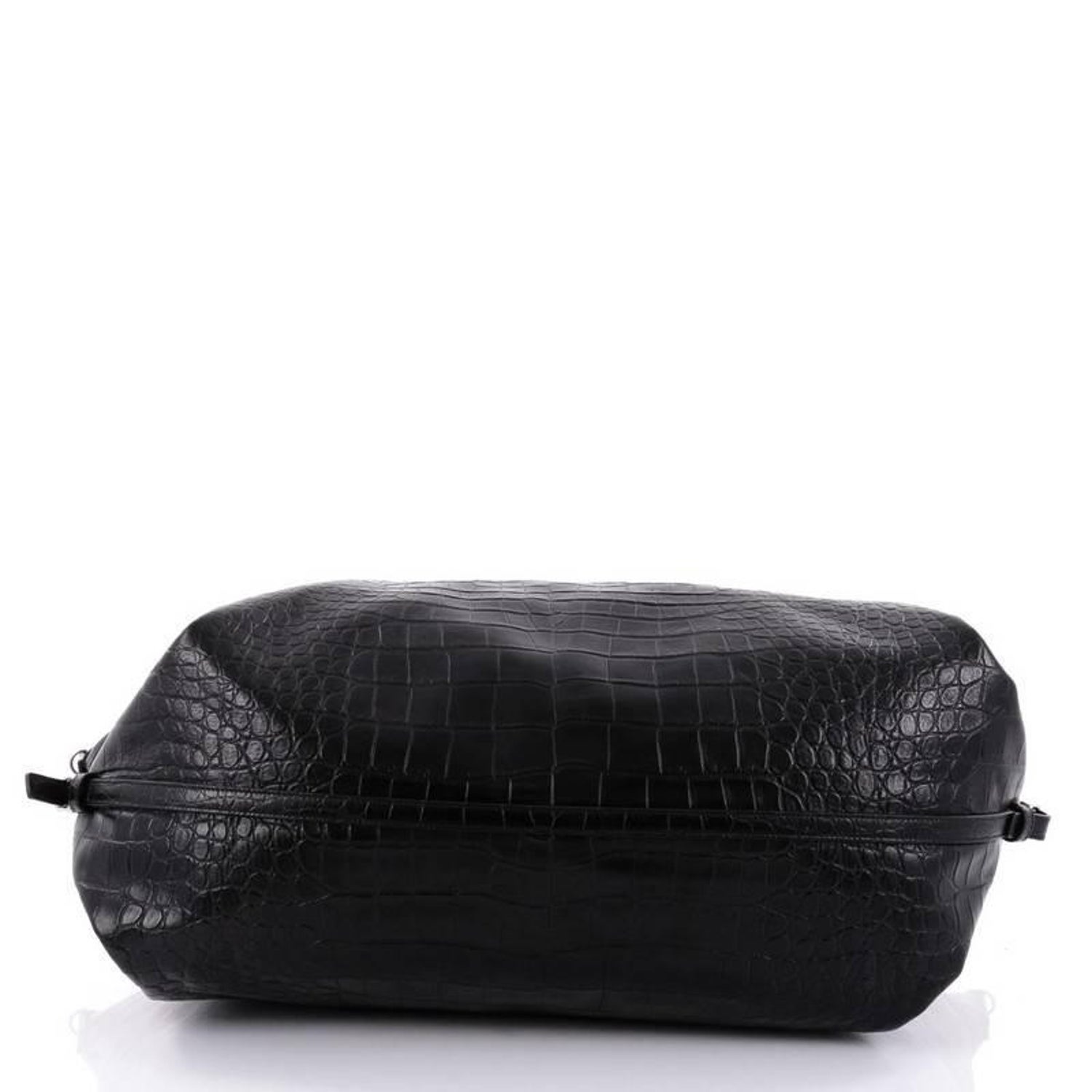 3b45a99039 Saint Laurent ID Convertible Bag Crocodile Embossed Leather Large