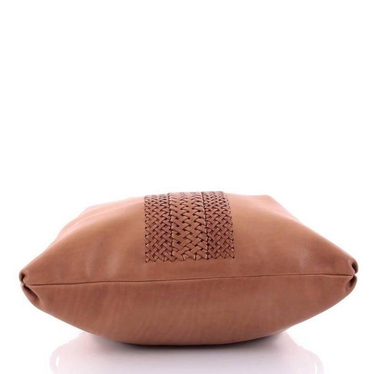 Women's or Men's Gucci Handmade Shoulder Bag Leather Medium For Sale