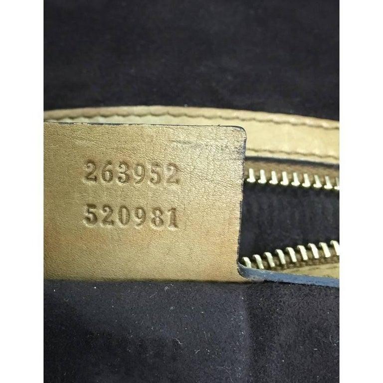 Gucci Handmade Shoulder Bag Leather Medium For Sale 3