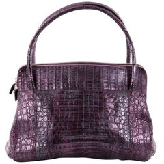 Nancy Gonzalez Linda Bag Crocodile Medium