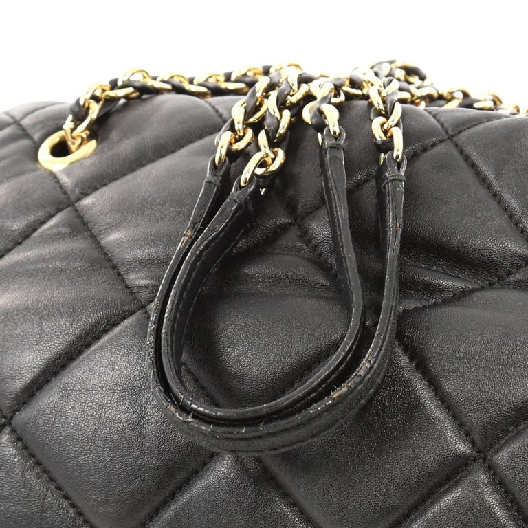 6b1301377850 Salvatore Ferragamo Ginette Chain Shoulder Bag Quilted Leather Medium For  Sale 1