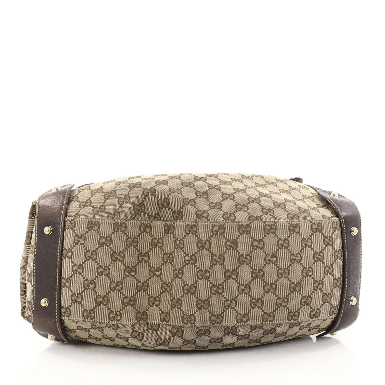 d72909a0d6 Gucci Pelham Shoulder Bag GG Canvas Medium at 1stdibs