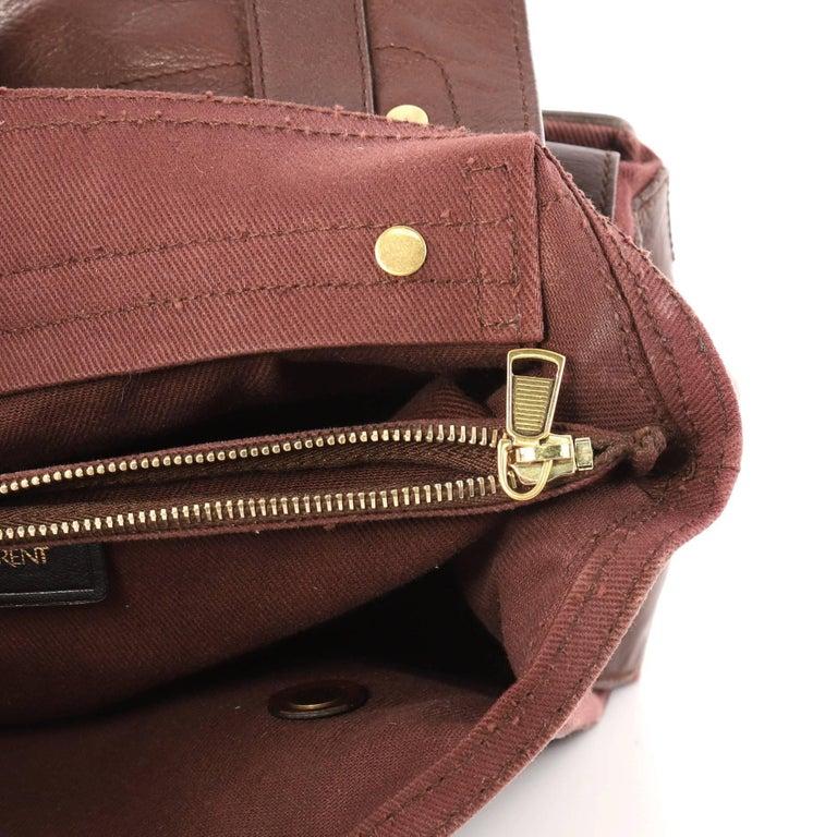 6facf893962 Saint Laurent Muse Two Handbag Leather with Canvas Medium at 1stdibs