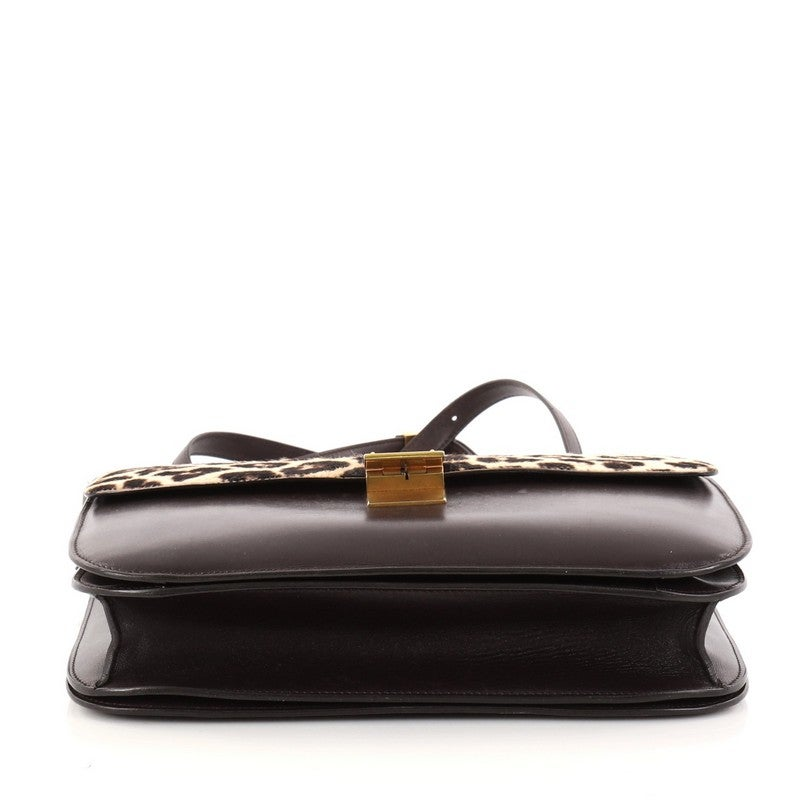 c5f5664780 Celine Box Bag Leather with Pony Hair Medium at 1stdibs