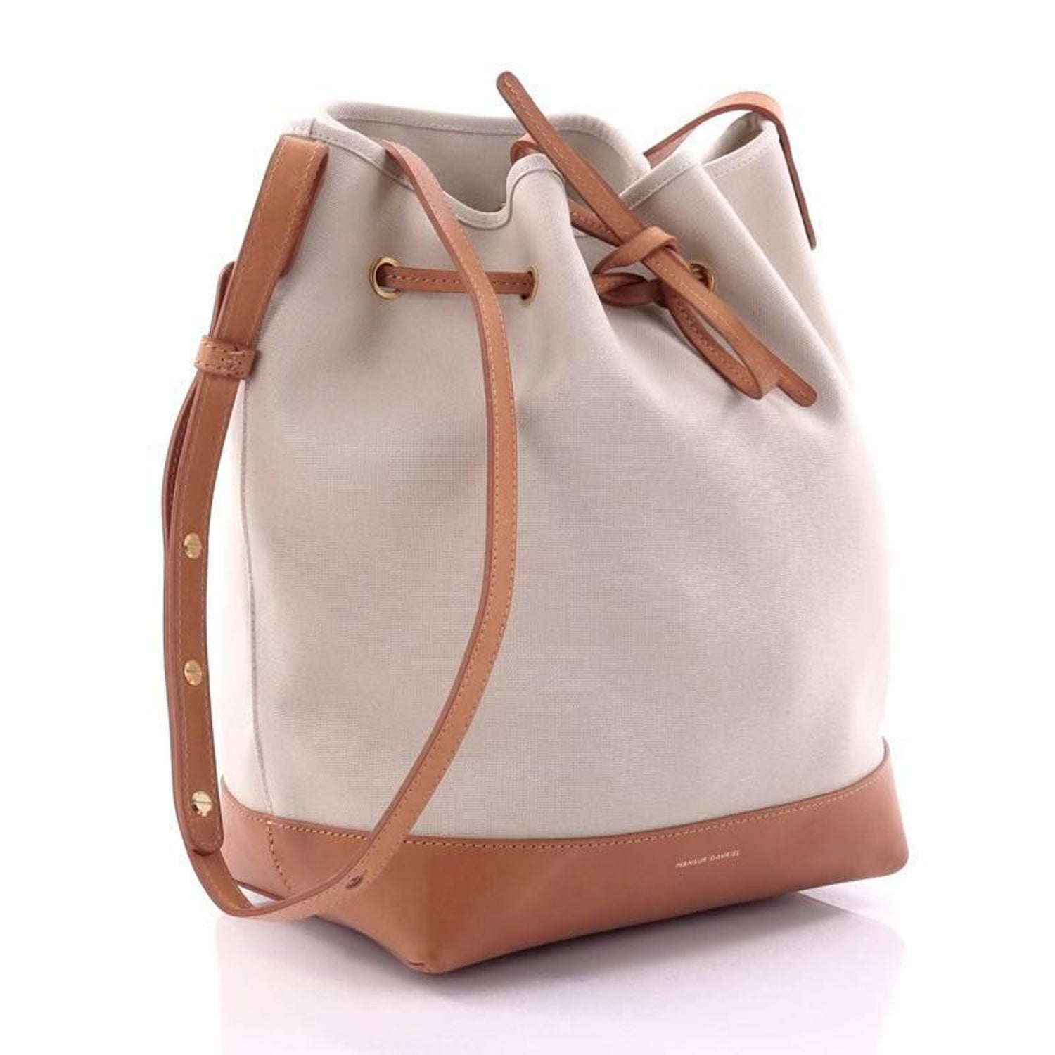 e26f5a37fc43 Mansur Gavriel Bucket Bag Canvas Large at 1stdibs
