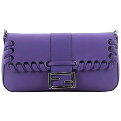 Fendi Baguette Whipstitch Leather