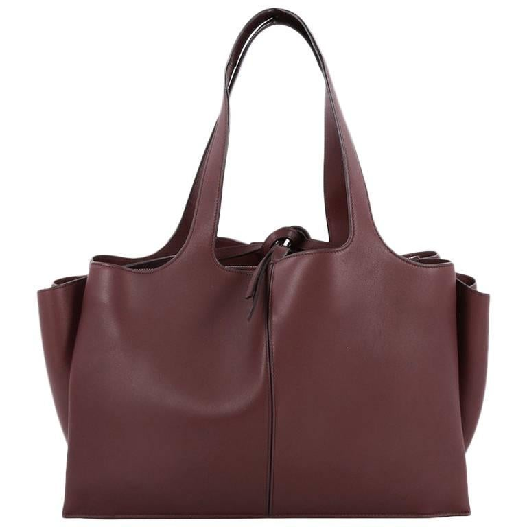 Celine Tri-Fold Shoulder Bag Smooth Calfskin Medium