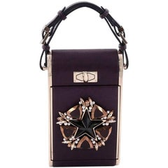 Givenchy Star Emblem Minaudiere Metal and Leather