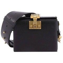 Christian Dior Dioraddict Lockbox Bag Leather Small
