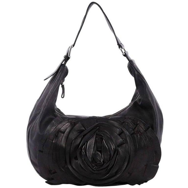 Valentino Petale Shoulder Bag Leather