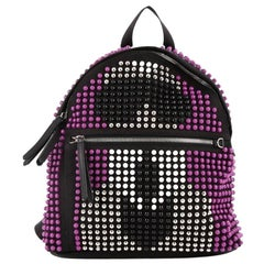 Fendi Karlito Backpack Studded Nylon