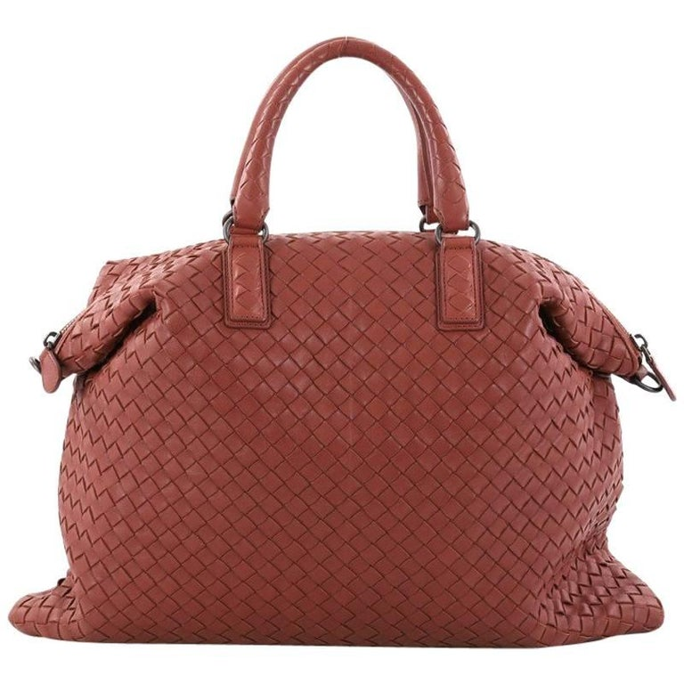 Bottega Veneta Convertible Satchel Intrecciato Nappa Medium