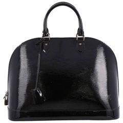 Louis Vuitton Alma Handbag Electric Epi Leather MM
