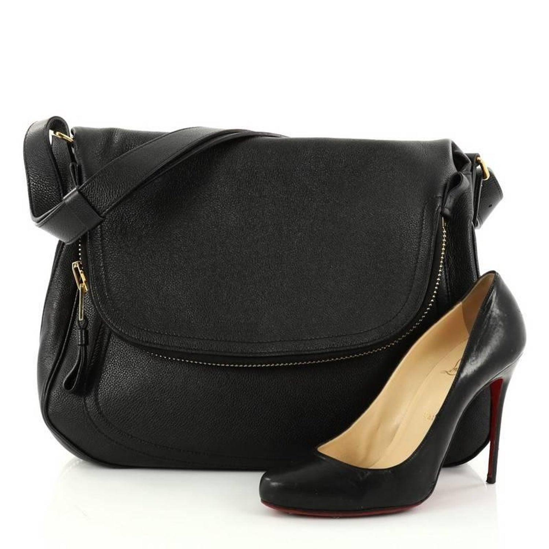 6008b14e37da35 Tom Ford Jennifer Shoulder Bag NM Leather Medium at 1stdibs