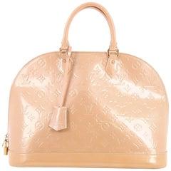 Louis Vuitton Monogram Vernis GM Alma Handbag