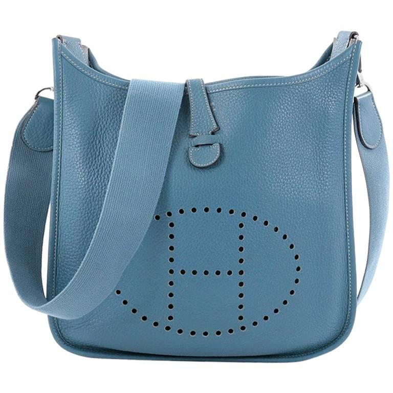 discount hermès evelyne bags up to 70 off at tradesy 00fd0 16331  best  price hermes evelyne crossbody gen iii clemence pm for sale 302b1 52e07 d943b73690467