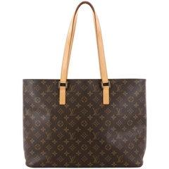 Louis Vuitton Luco Handbag Monogram Canvas