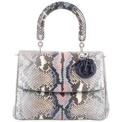 Christian Dior Be Dior Bag Python Medium