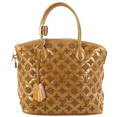 Louis Vuitton Fascination Lockit Handbag Patent Lambskin