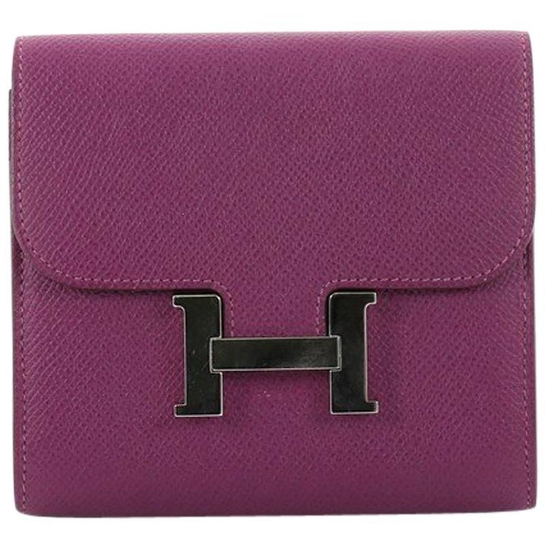 Hermes Constance Wallet Epsom Compact