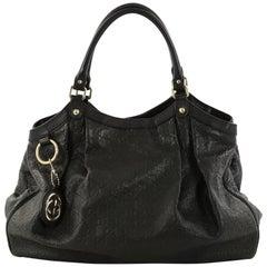 Gucci Sukey Tote Guccissima Leather Large
