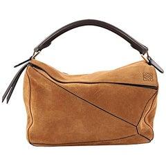 Loewe Puzzle Bag Suede Small