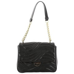 Salvatore Ferragamo Lexi Shoulder Bag Quilted Leather Small