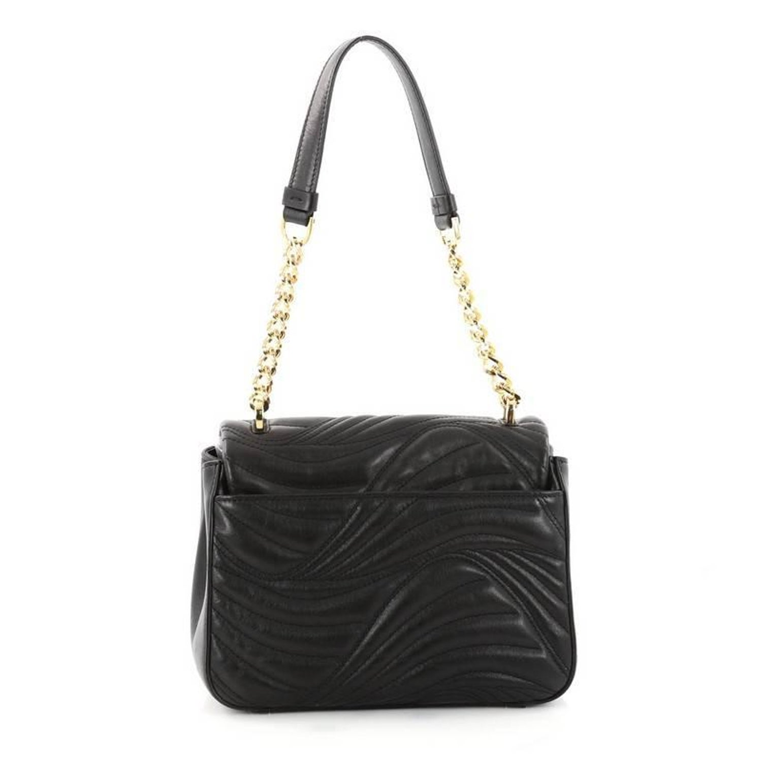 ae926d4b4a Salvatore Ferragamo Lexi Shoulder Bag Quilted Leather Small at 1stdibs