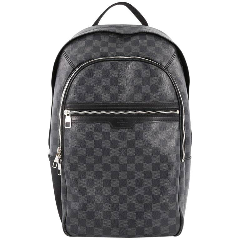 Louis Vuitton Michael Backpack Damier Graphite