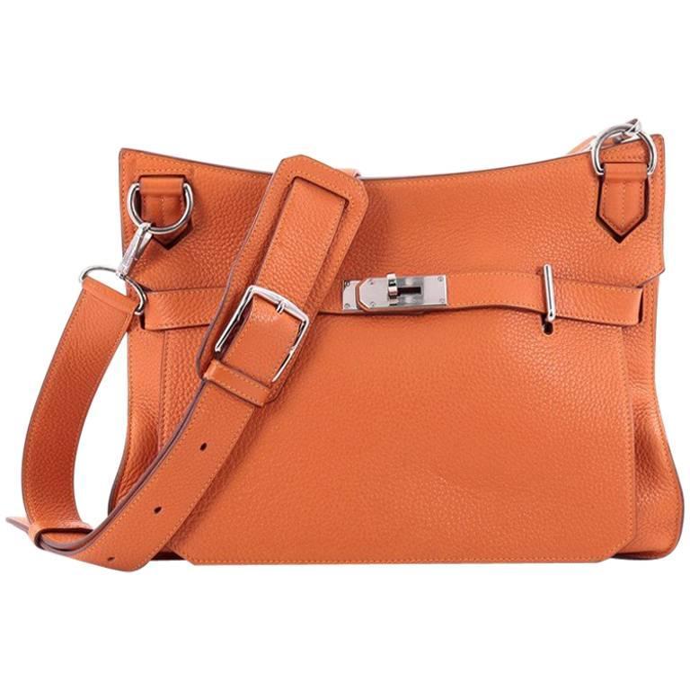 bbe6114ecd4 Hermes Eclat Jypsiere Clemence 34 Handbag at 1stdibs