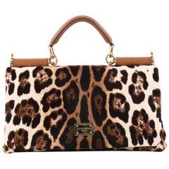 Dolce & Gabbana Miss Sicily Handbag Pony Hair East West
