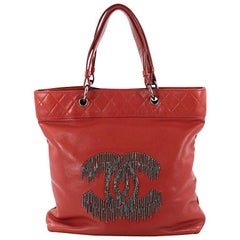 Chanel Rock and Cabaret Tote Lambskin