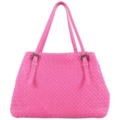 Bottega Veneta A-Shape Tote Intrecciato Nappa Medium