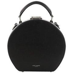 Saint Laurent Mica Hatbox Handbag Leather Small