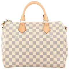 Louis Vuitton Speedy Bandouliere Bag Damier 30