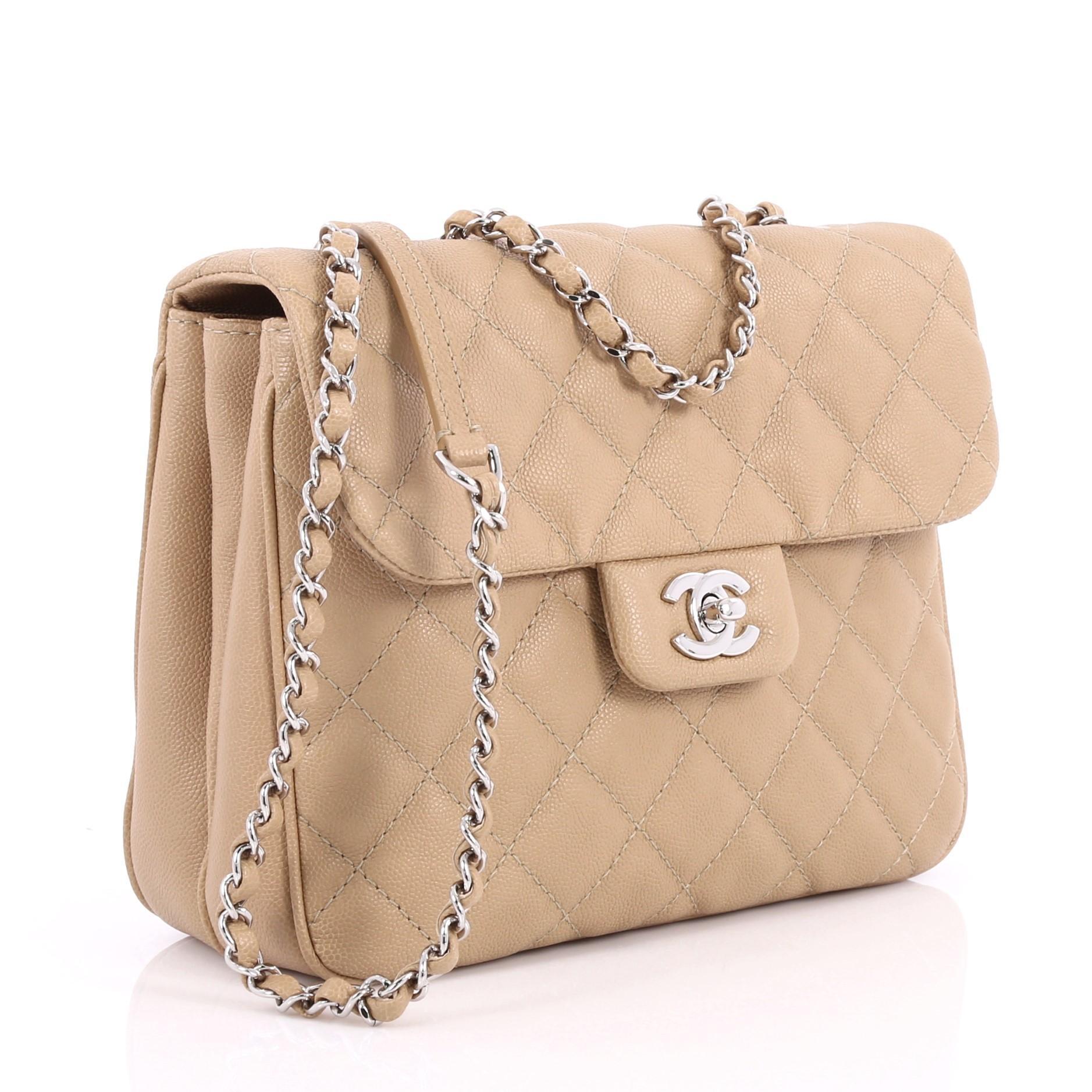 afa231203dea Chanel Urban Companion Flap Bag Quilted Caviar Small at 1stdibs