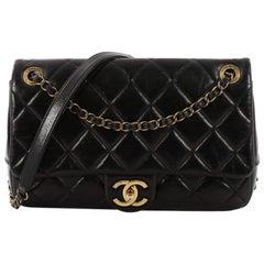Chanel Paris-Salzburg CC Flap Bag Quilted Calfskin Small