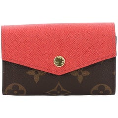 Louis Vuitton Sarah Multicartes Wallet Monogram Canvas