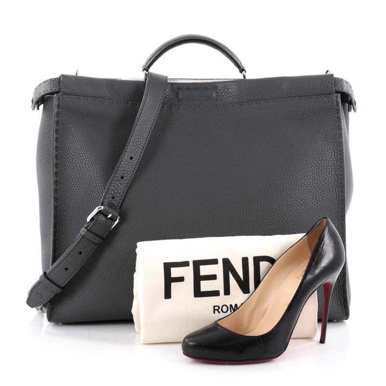 107da888f5 Fendi Peekaboo Monster Handbag Mixed Media Large at 1stdibs