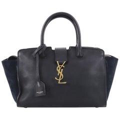 Saint Laurent Monogram Cabas Downtown Leather Baby Bag