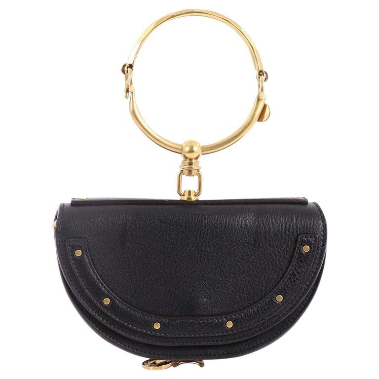 Chloe Nile Mini Leather Crossbody Bag  For Sale